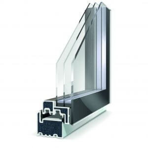 Lumi features triple glazed units which uses Super Spacer