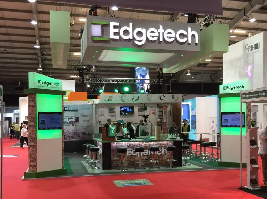 Edgetech's stand at FIT Show 2016