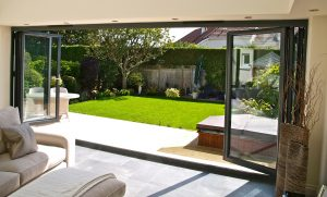 Manufacturing oversized insulated glass units for Bi-fold Doors - Image Credit: AluFoldDirect